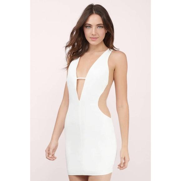 8527b2b18f8 SALE NWT Tobi mesh insert low dress